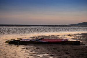 sunset, reiki, beach